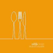 Set of Cutlery.