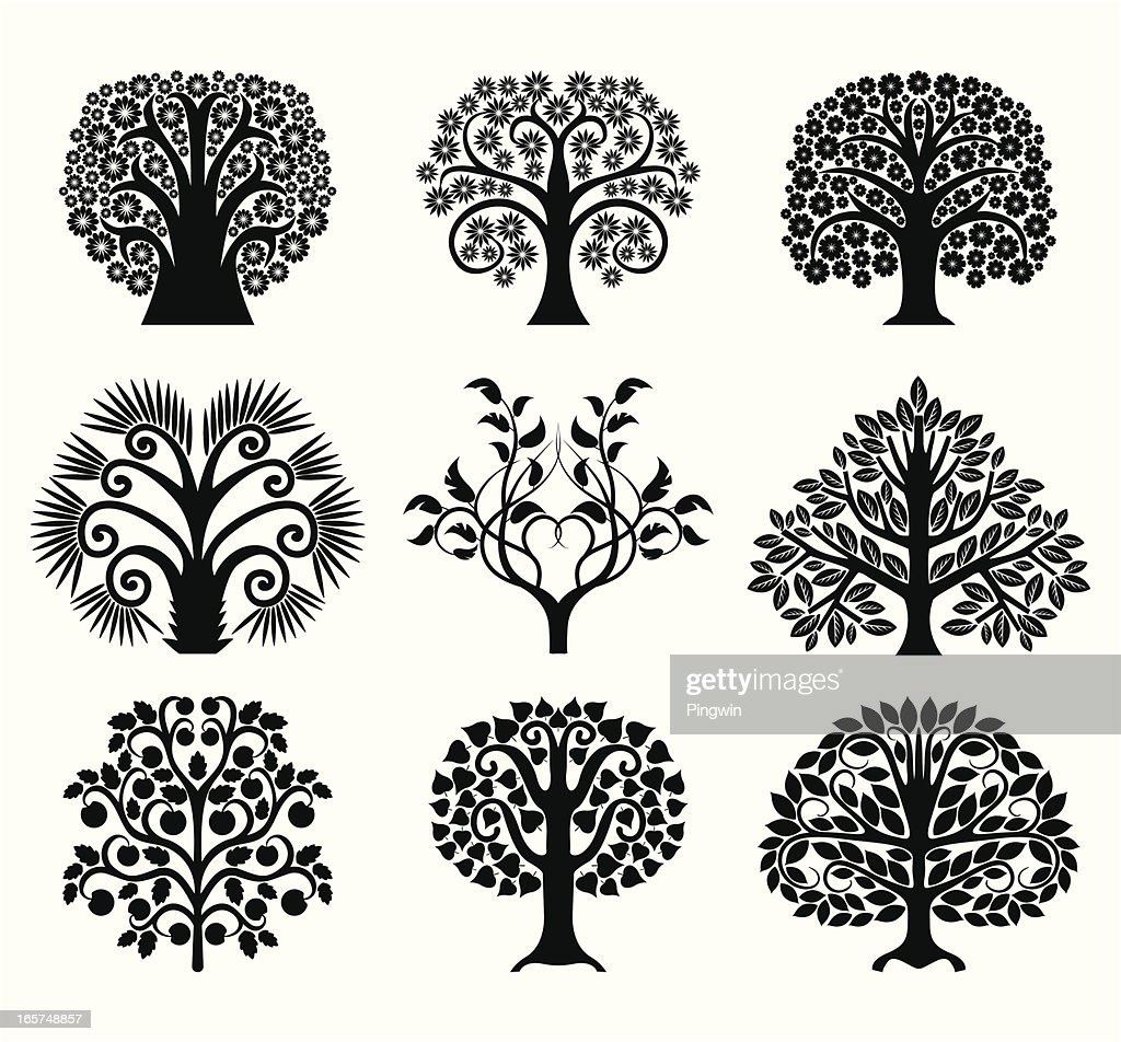 Set of decoration trees