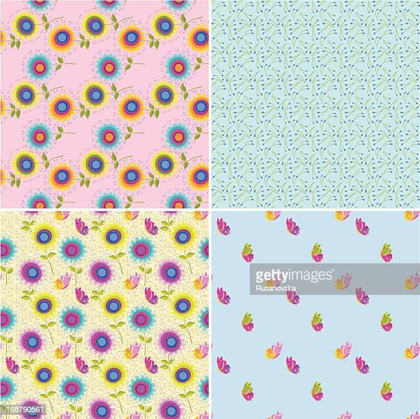 Set of Decorative Patterns