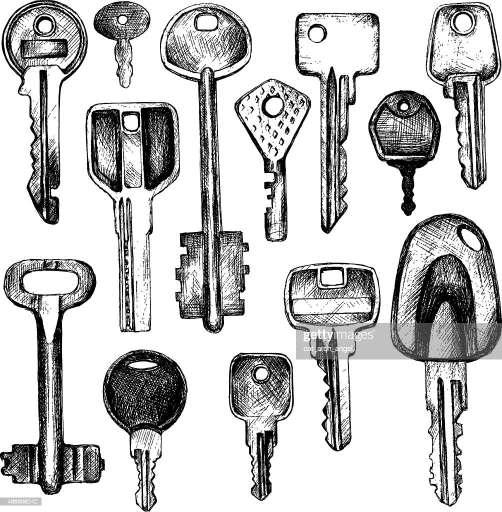 set of different keys