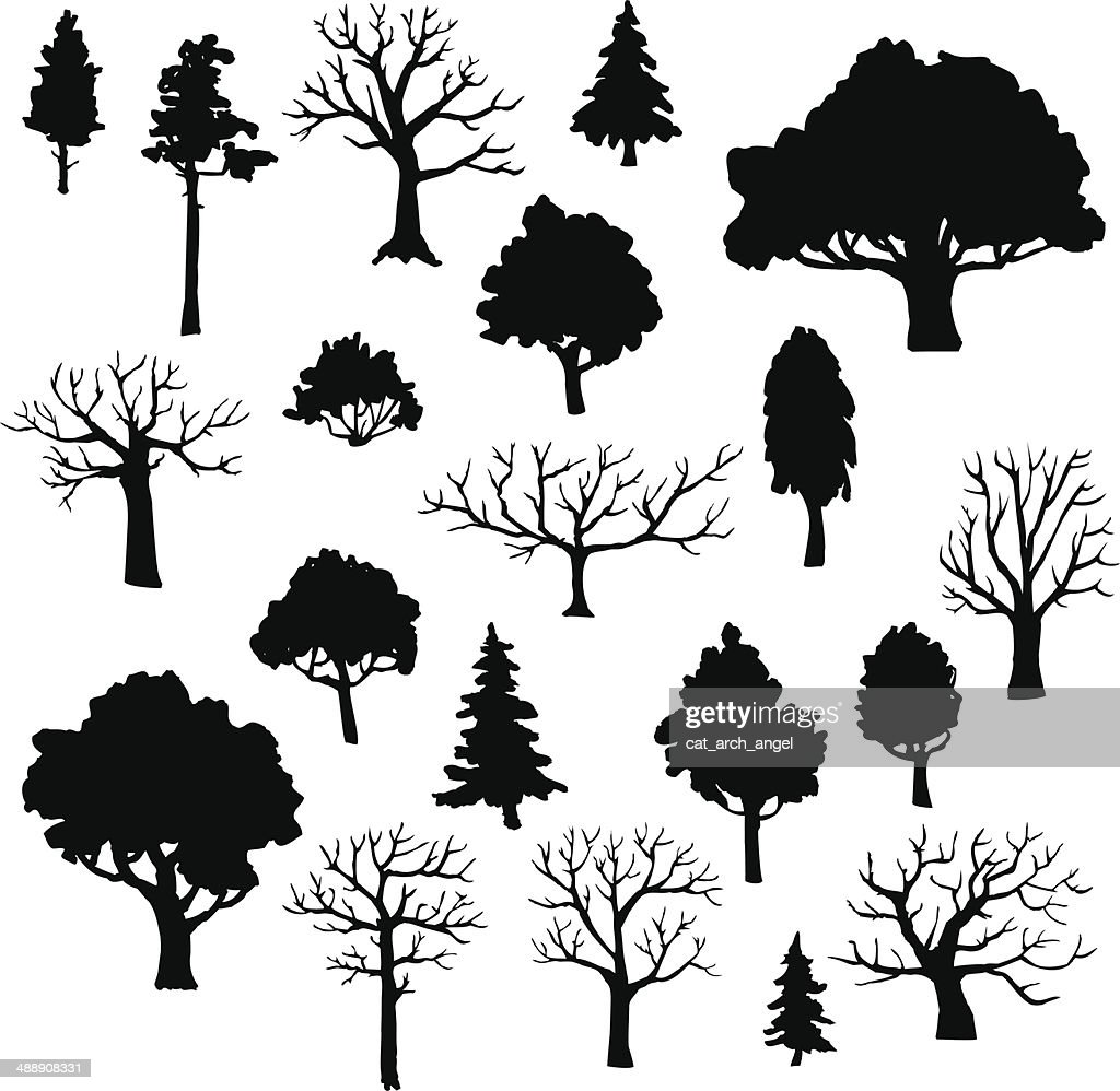 set of different trees