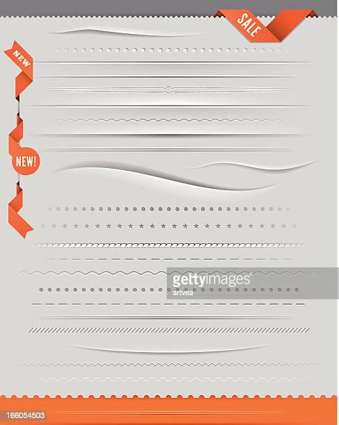ilustrações, clipart, desenhos animados e ícones de conjunto de divisores - dividindo