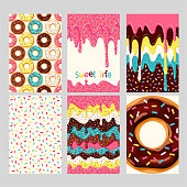 Set of donuts