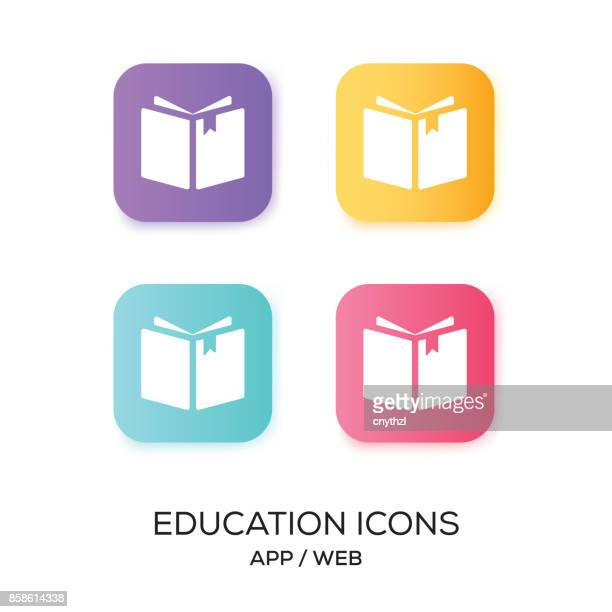 Set of Education App Icon