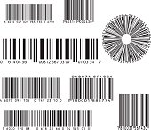 set of eight barcode
