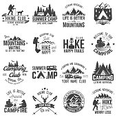 Set of extreme adventure badges. Concept for shirt or logo, print, stamp or tee