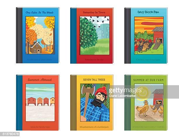 Set Of Fictional Childrens Books