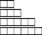 set of film stripes, medium format, photo frames