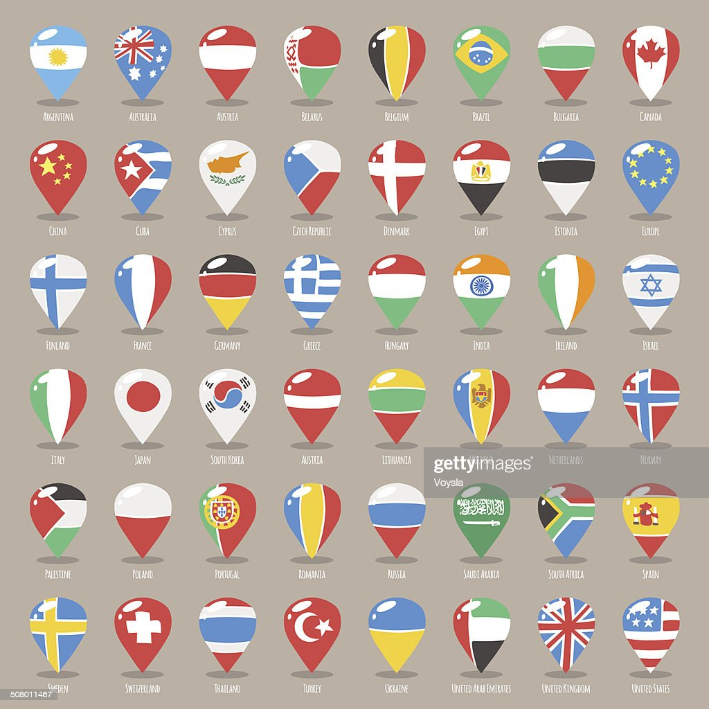 Set of Flat Map Pointers With World States Flags