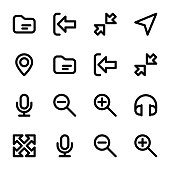 Set Of Font Awesome Icons