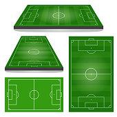 Set of Football Fields
