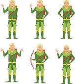 Set of Forest Fantasy Elves