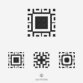 set of geometric icon