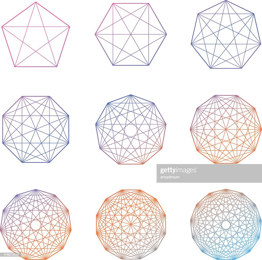 Set Of Geometric Shapes Vector Stock Illustration - Getty Images