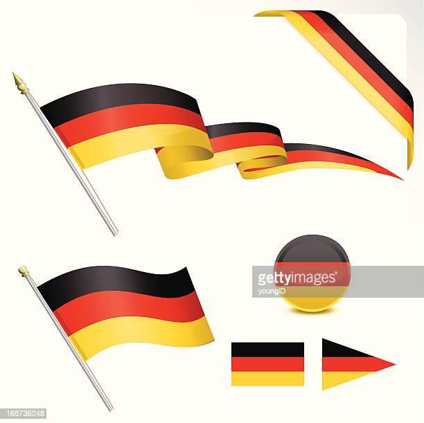 Deutsche Flagge Set