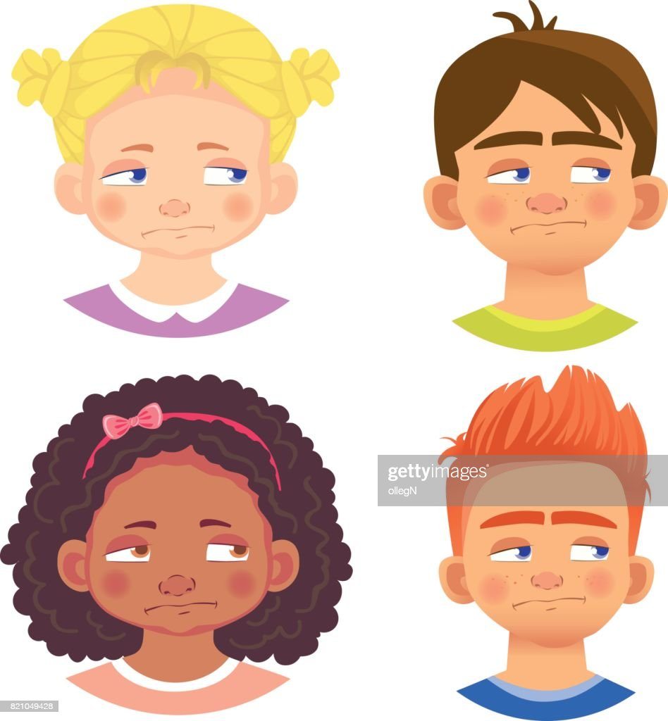 Set of girls and boy character 5