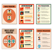 Set of Health and Medical Flyers.