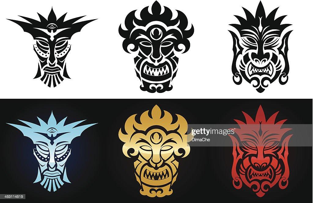 Set of idols