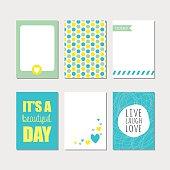 Set of insirational cards