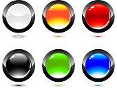 Set of  internet button
