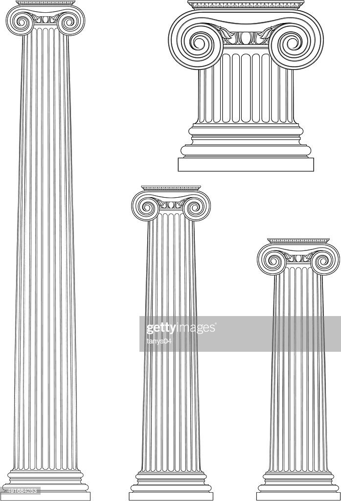 set of ionic column