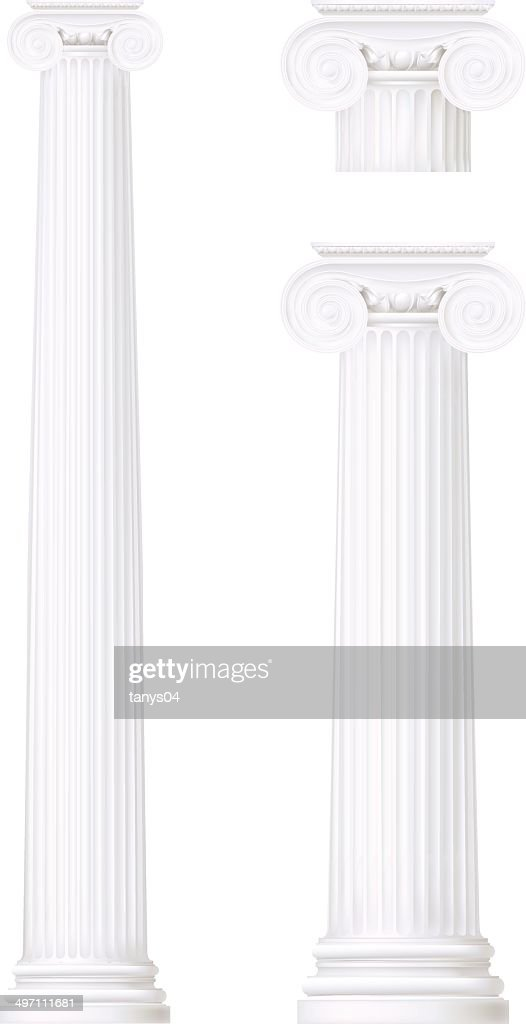 set of ionic column