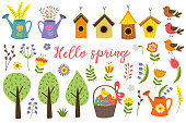 set of isolated elements of spring