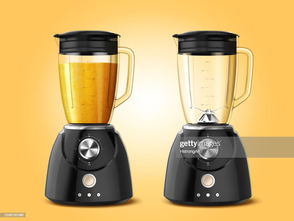 Set of juicer blender appliances