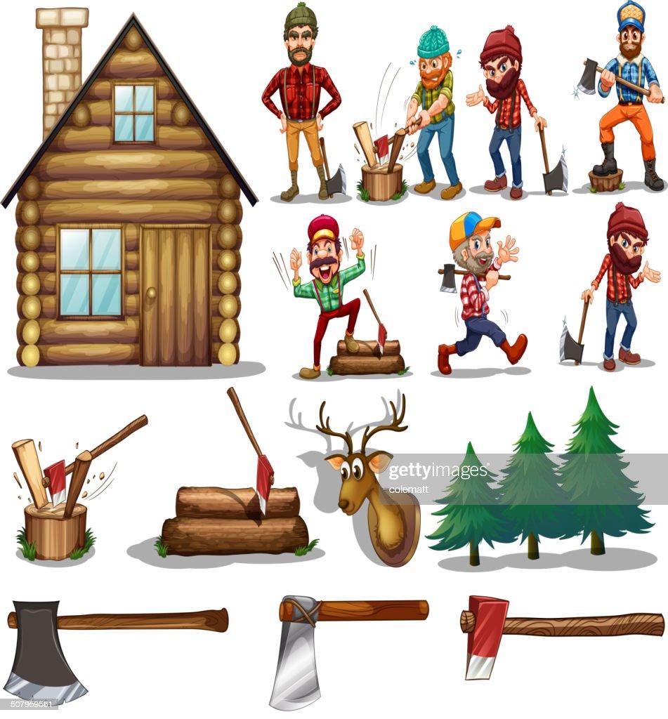 set of lumber