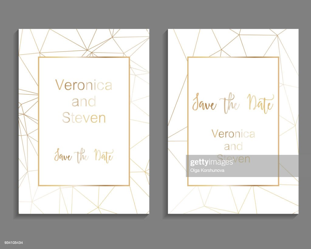 Set of luxury cover templates. Vector cover design for wedding invintation, placards, banners, flyers, presentations and business cards