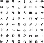 Set of medical and healtcare vector icons