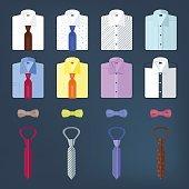 Set of men's clothing