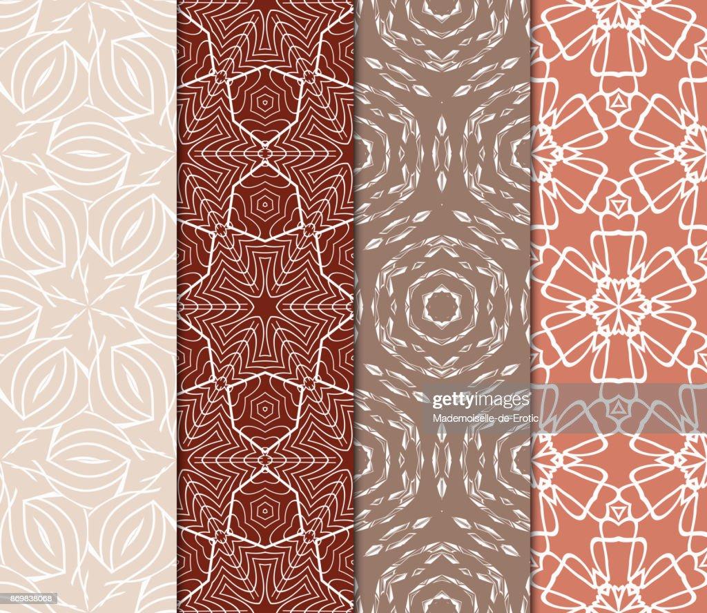 Set of modern decorative floral lace pattern luxury texture for set of modern decorative floral lace pattern luxury texture for wallpaper invitation decor stopboris Images