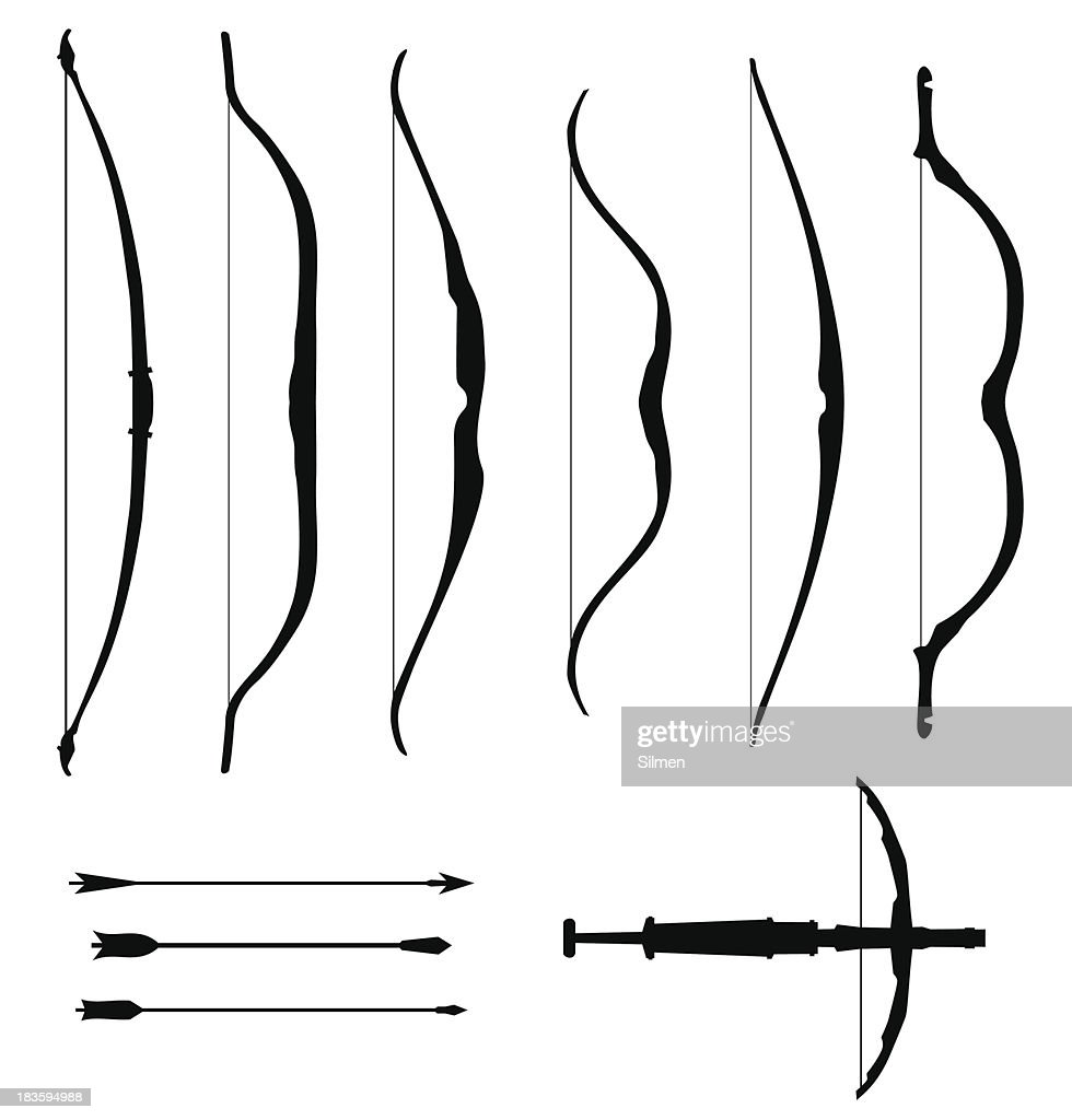 Set of old bows