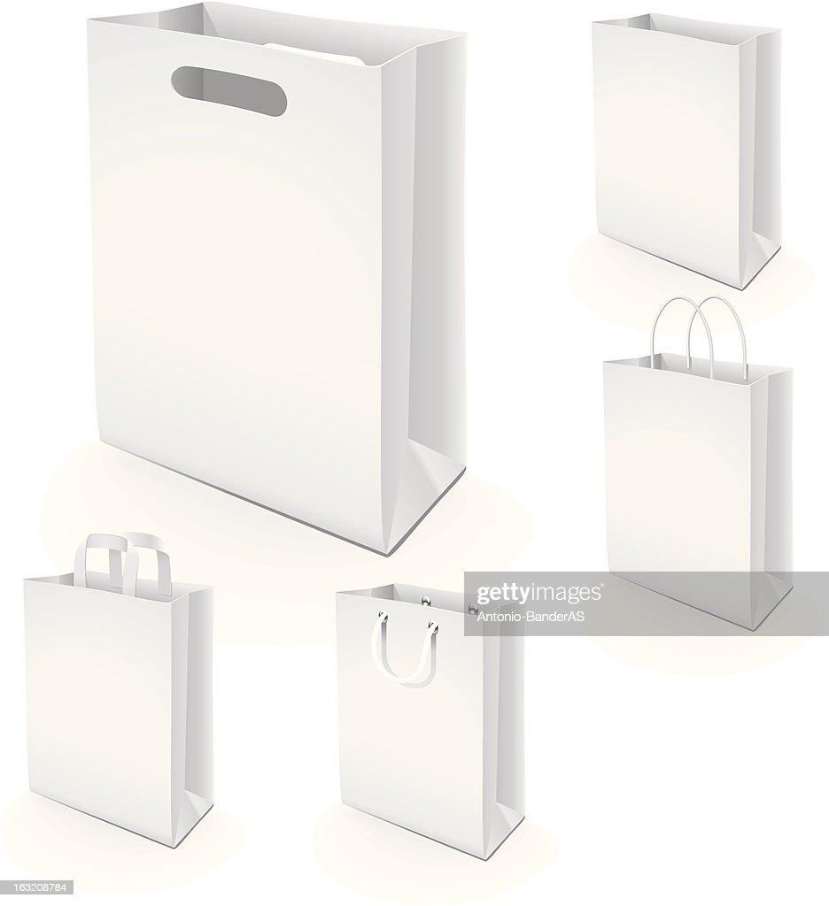Set of paper bags