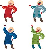 Set of polar expliorers