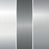 Set of polished metallic surface
