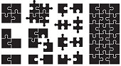 Set of Puzzle Icons