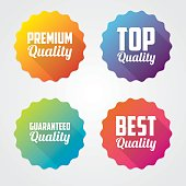 Set of Quality Vector Labels