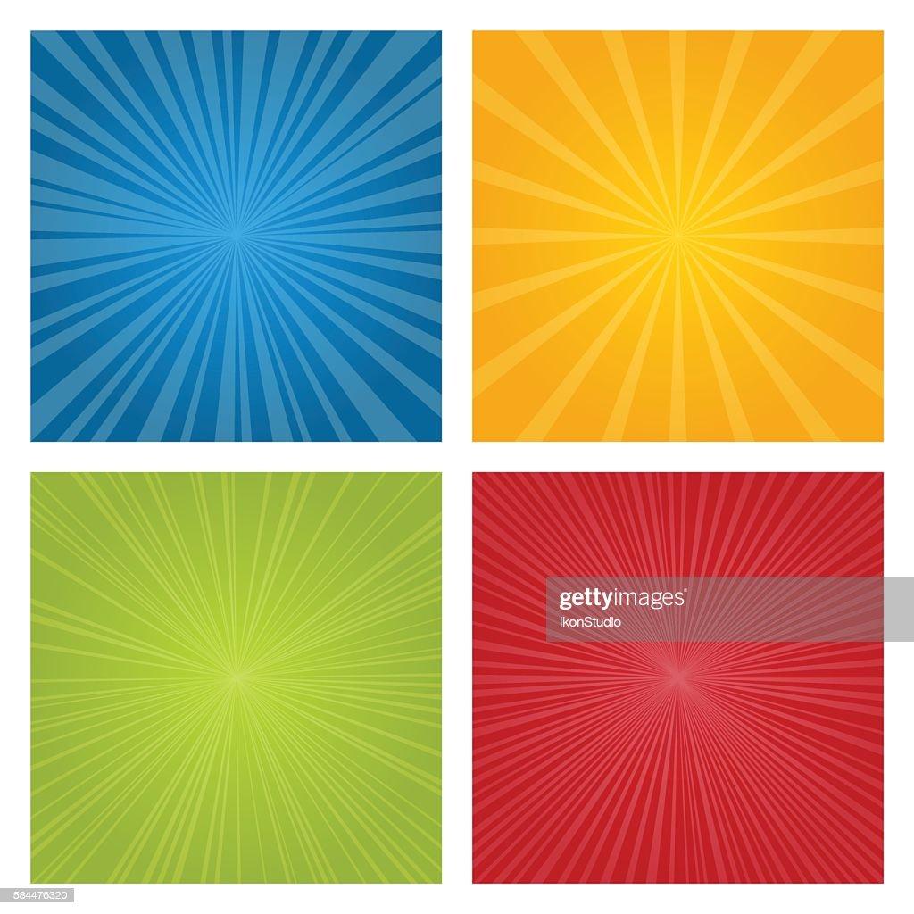 Set of rays