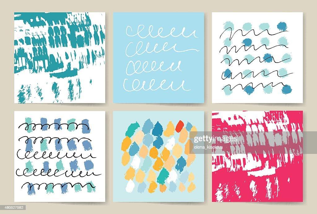 Set of sharp mistical line logos : Vectorkunst