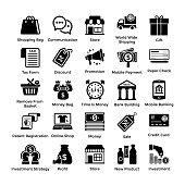 Set Of Shopping Icons 1