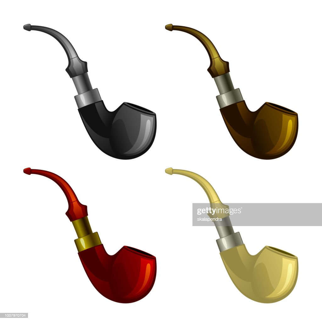 Set of smoking pipes