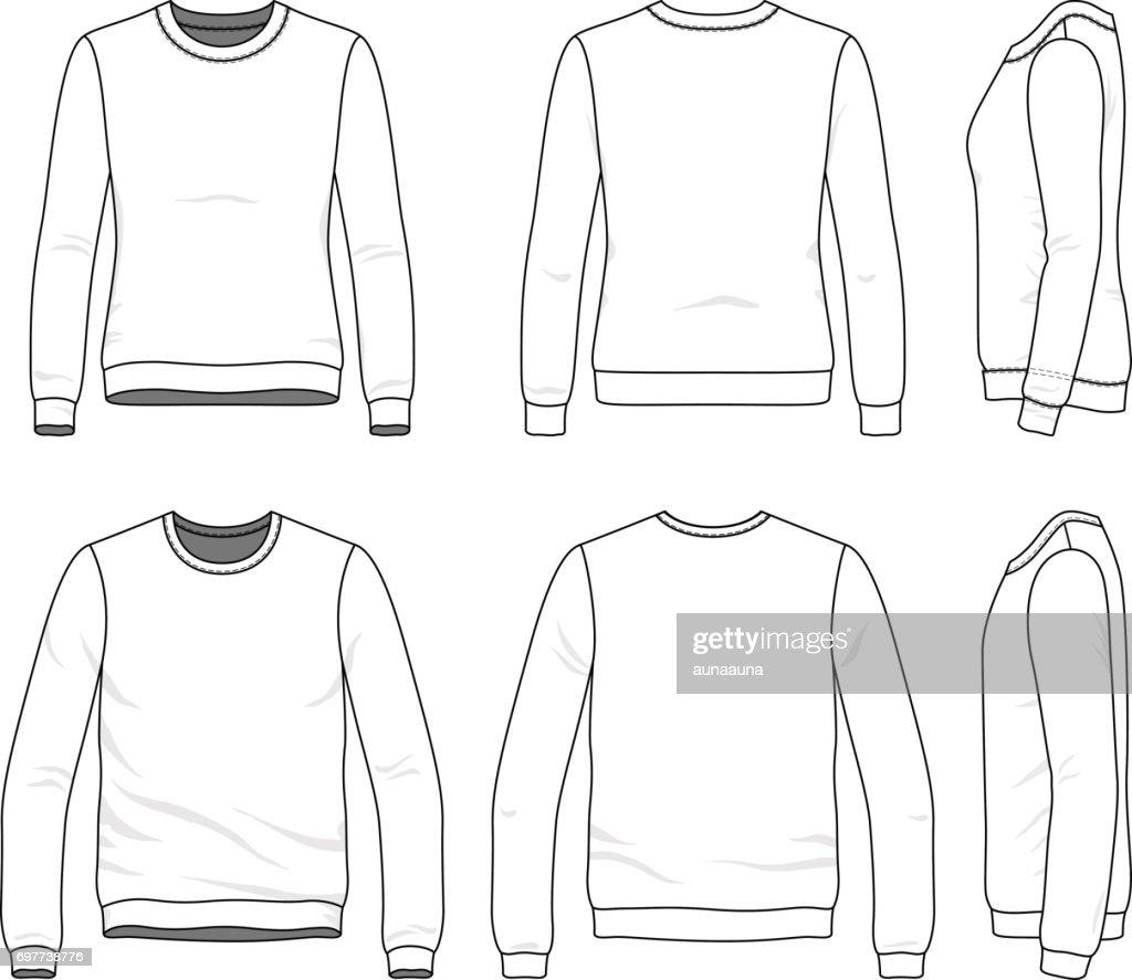 Set of sweatshirts.