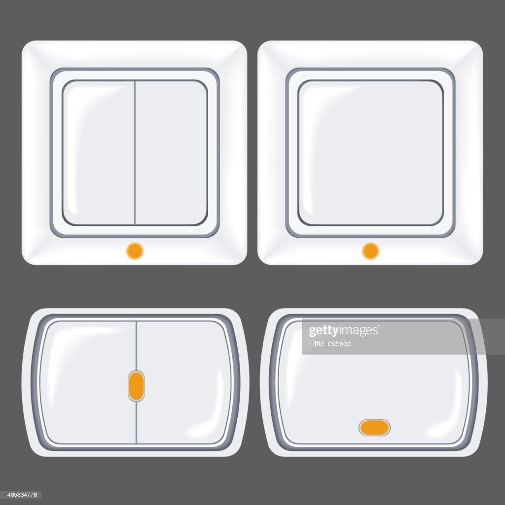 Set of switch, circuit breaker, switcher
