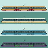 Set of tramtrains