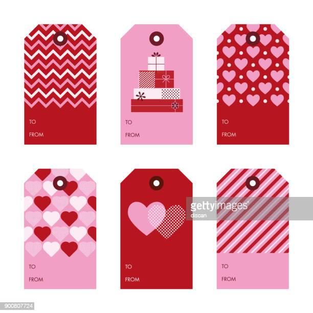 ilustraciones, imágenes clip art, dibujos animados e iconos de stock de palabra clave del conjunto de regalo de san valentín. - carta de amor
