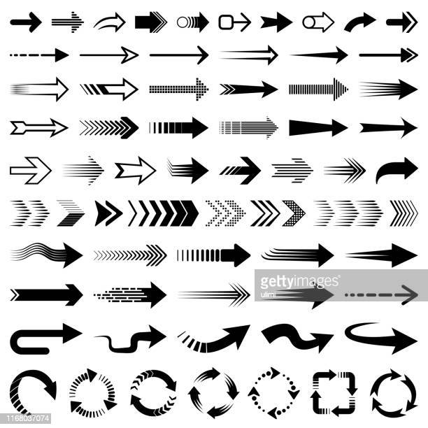 ilustrações, clipart, desenhos animados e ícones de jogo de setas do vetor - sinal de seta