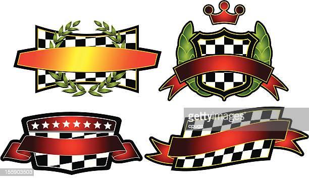 Set of Vector Emblems & Crest