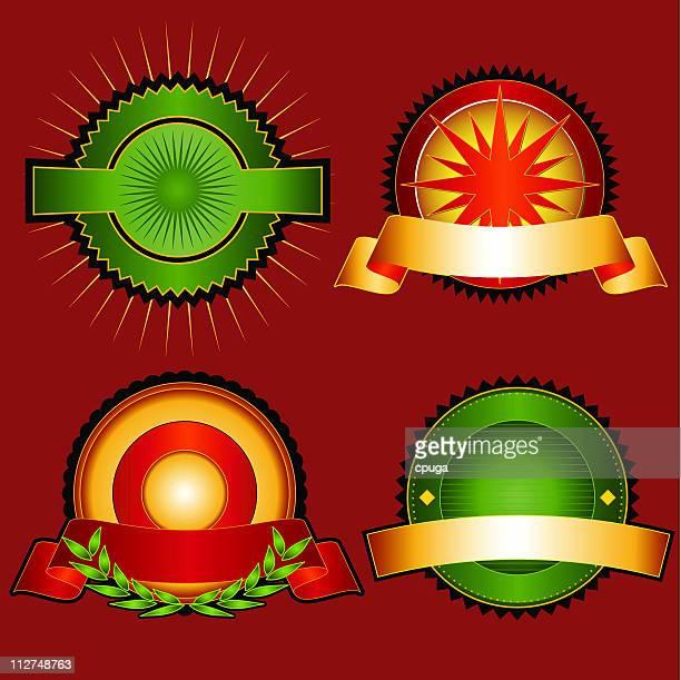 Set of Vector Emblems & Crests